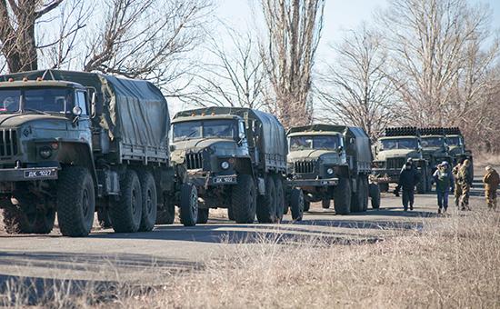 Ополченцы анонсировали полномасштабный отвод тяжелых вооружений