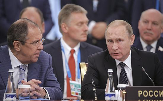 Путин обсудил сШОС перспективы присоединения корганизации Ирана