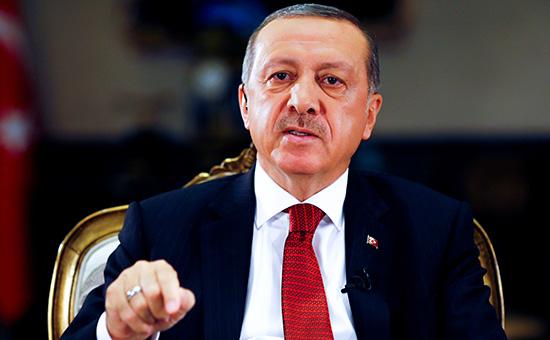 Эрдоган обвинил Запад вотсутствии солидарности сТурцией послемятежа