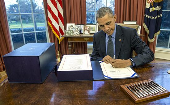Обама отменил запрет на экспорт нефти из США