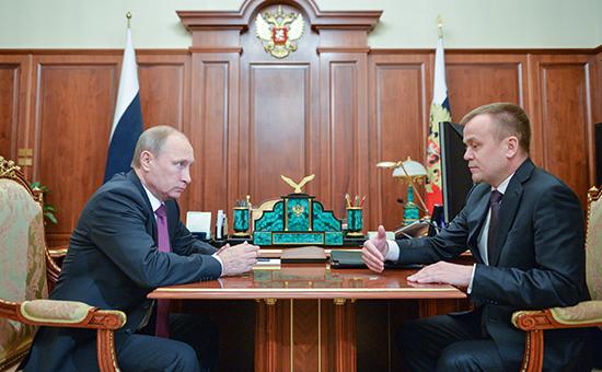 Путин отправил в отставку третьего за неделю губернатора
