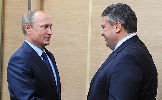 Вице-канцлер Германии отменил встречу сПутиным из-заBrexit