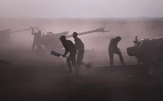 Армия Асада наступает на вооруженных ЦРУ повстанцев