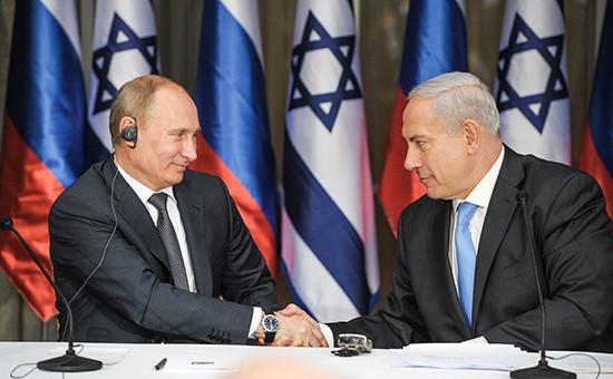 Россия и Израиль создали комиссию для координации действий в Сирии