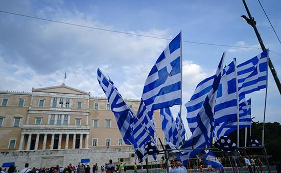 Греция предложила решить проблемы сдолгом намесяц