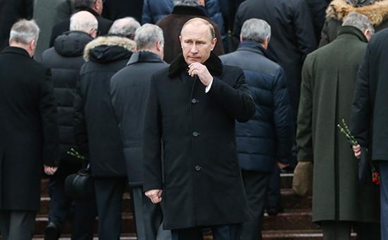 В России потеряли Путина