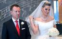 Депутаты ГД РФ Денис Вороненков и Мария Максакова на приеме по случаю свадьбы